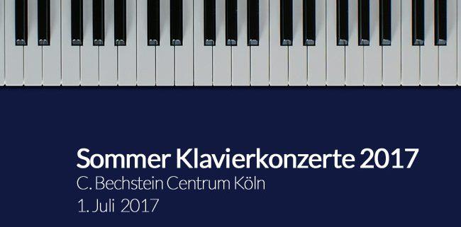 Sommer Klavierkonzerte 2017
