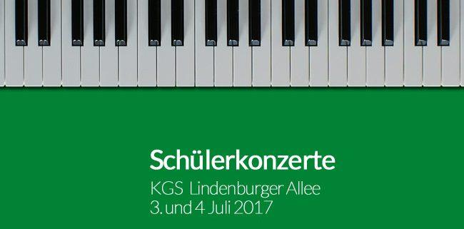 Sommerkonzerte 2017 KGS Lindenburger Allee