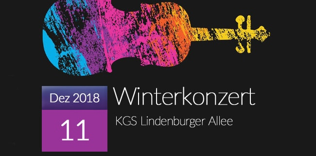 Winterkonzert 2018 in der KGS Lindenburger Allee