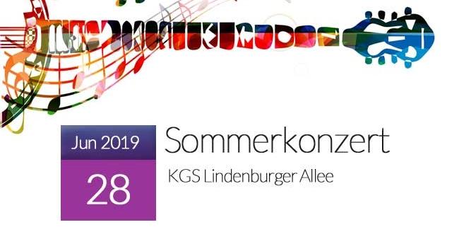 Sommerkonzert 2019 in der KGS Lindenburger Allee