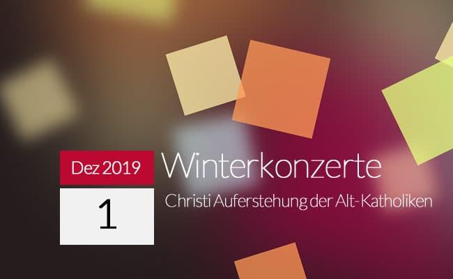 Winterkonzerte 2019