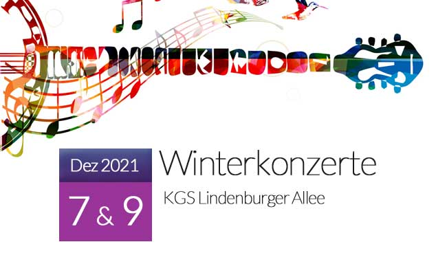 Winterkonzerte 2021 KGS Lindenburger Allee